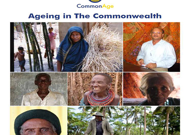 Elderly people from the Commonwealth on age report cover