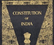 cover of the Indian Constitution